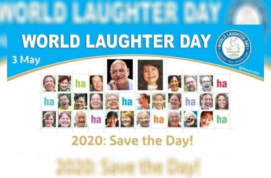 اولین یکشنبه ماه مه که امسال مصادف است با ۳ مه روز جهانی خنده است.  این روز اولین بار از سوی یک مربی یوگا در هند نامگذاری شد و امروزه در بیش از ۷۰ کشور برگزار میشود. شعار امسال این است: «روزت را نجات بده»