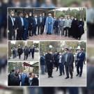 بازدید شهردار و رئیس شورای اسلامی شهرقدس از سازمان آرامستان بهشت فاطمه(س)