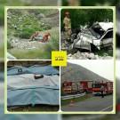 سقوط خودرو پژو پارس به دره وردیج