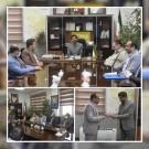 تودیع و معارفه معاون اداری مالی شهرداری منطقه ۲ قدس و دبیر کمیسیون ماده صد شهرداری قدس