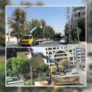 ساماندهی چراغ های راهنمایی و چشمک زن سطح شهر توسط اداره ترافیک